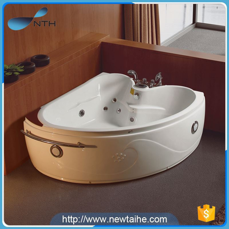 NTH best price environmental suite 2 person acrylic bathtub with led light