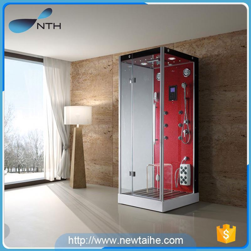 NTH made in china low price ISO clean steam bath shower cabin with digital control panel