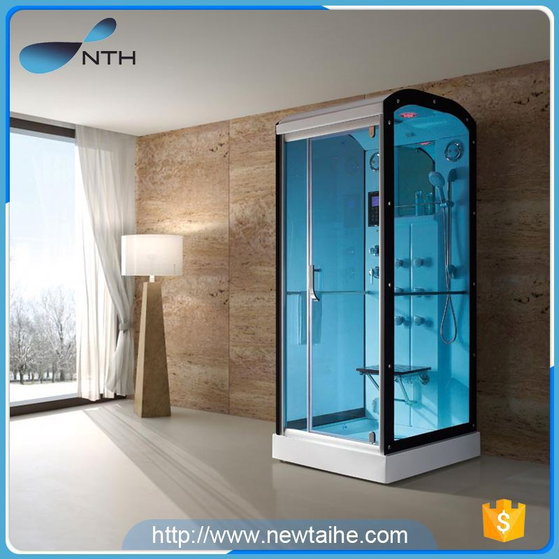 NTH top selling products 2017 personalized hotel glass cheap shower sauna steam room with mirror