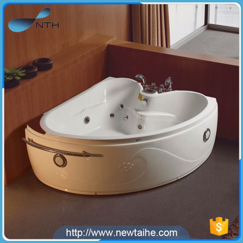 NTH hot selling products luxury holiday house 2 adult cheap whirlpool badewanne