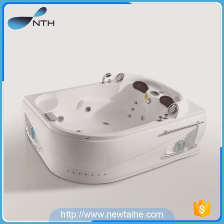 NTH new recommended simple CE 2 adult cheap out door spa bathtub with hand shower