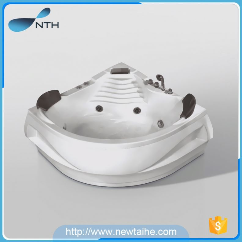 NTH new product cheap restroom under water LED light mobile bathtubs