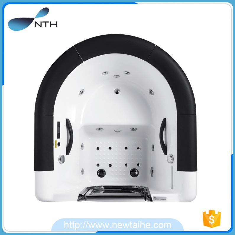 NTH new product modern home 220V air bubble massage tub with hand shower
