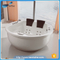 NTH high quality acrylic freestanding fit dimensions cheap round bathtub