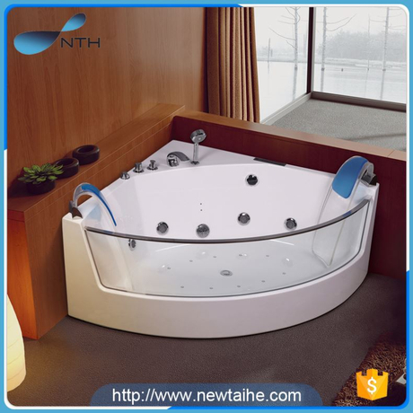 NTH alibaba china gold supplier popular restroom LED light portable bath tubs and showers