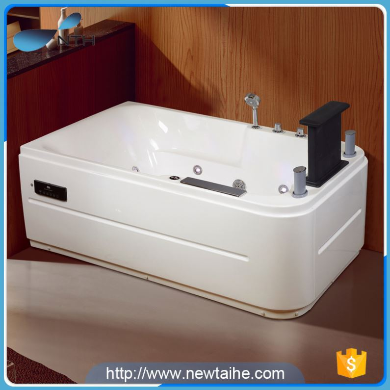 NTH 2017 hot sale security shower room white spa tubs