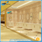 NTH new recommended simple CE ivory luxury large square bathtub with air bubble jet