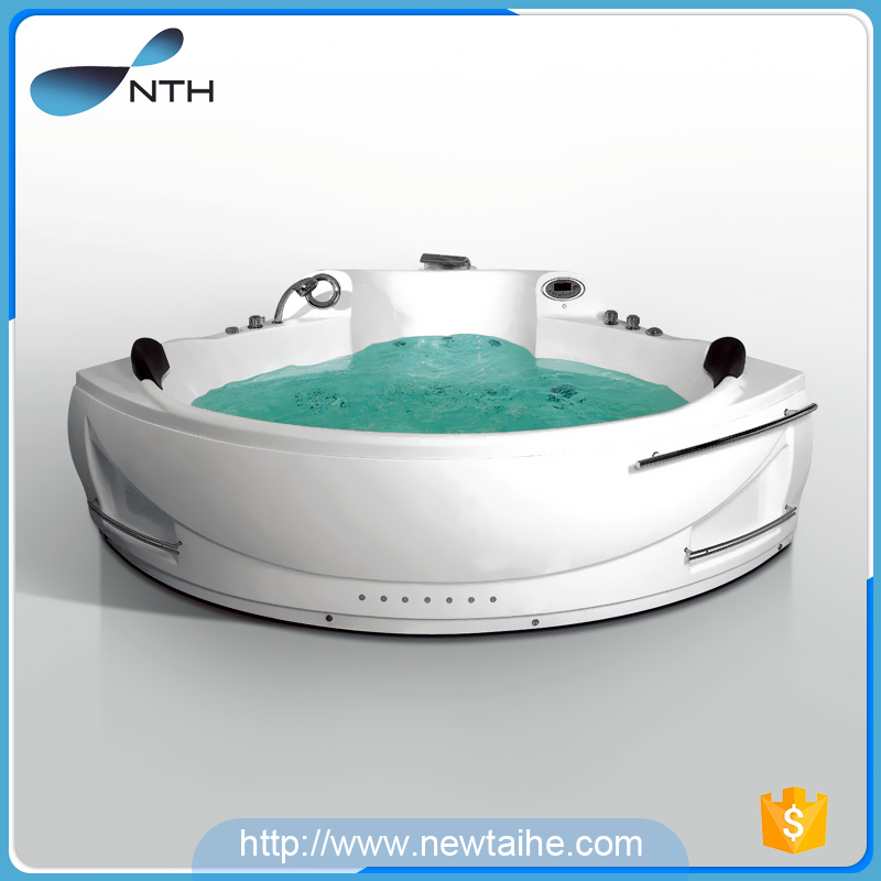 Acrylic corner fiber adult portable bathtub