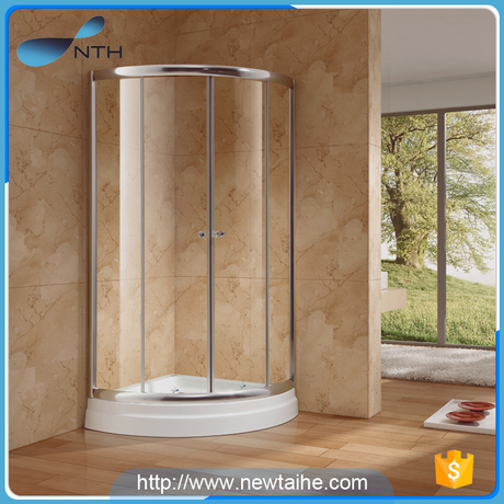 Free Standing Glass Shower Enclosure