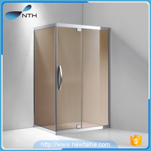 Toilet corner glass shower cabin